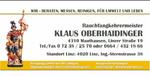 Rauchfangkehrermeister Oberhaidinger