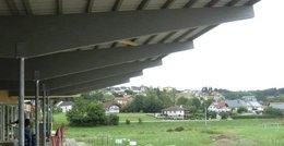 Sportplatz Neubau