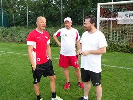 U15-Training mit Wolfgang Klapf